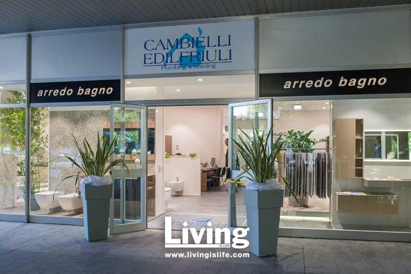Inaugurazione nuovo showroom Cambielli Edilfriuli
