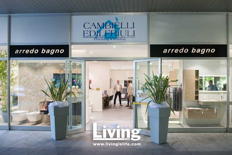 Living is Life - Inaugurazione nuovo showroom Cambielli Edilfriuli a ...